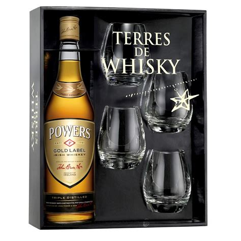 coffret whisky powers  cl