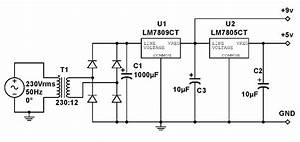 Power Supply Unit Circuit Diagram