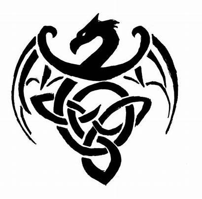 Celtic Clip Designs Symbols Irish Symbol Dragon