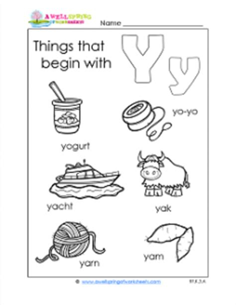 things that start with x for preschool things that begin with y a wellspring 246