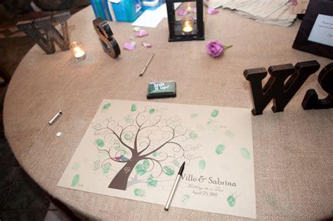 Downloadable Fingerprint Tree Guestbook