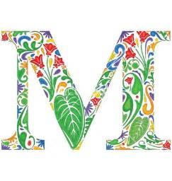 initial monogram fonts 117 best images about the letter quot m quot on