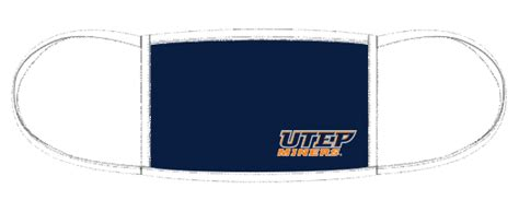 UTEP Branded Face Mask Graphic Package