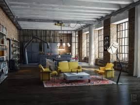 design le industrial loft