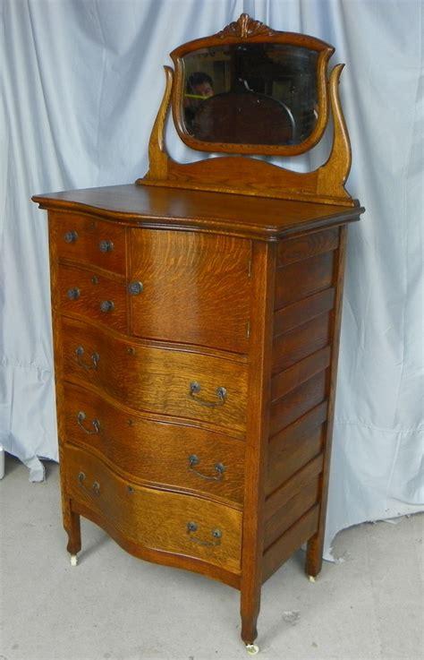 High Dressers Chests by Bargain S Antiques Antique Oak High Boy Dresser