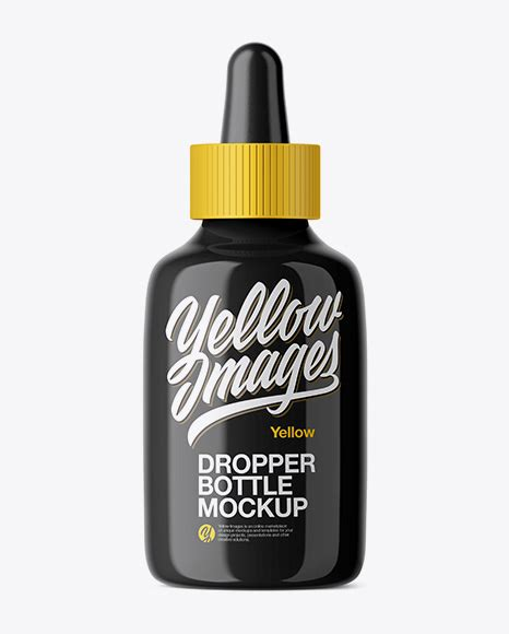 Showcase your design with this dropper bottle mockup templates. Download Psd Mockup Bottle Cap Cosmetic Dropper Dropper ...