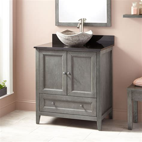 Bathroom Vanity And Sink For Sale by 30 Quot Kipley Vessel Sink Vanity Gray Wash Powder Room