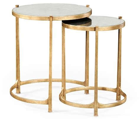 how tall are end tables nesting tables gold nesting tables gold side table gold