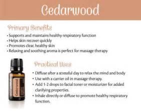 doTERRA Cedarwood Oil Uses