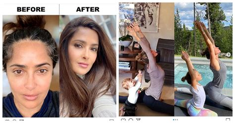 Salma Hayek & 9 Other Celebrities With The Best Then & Now ...