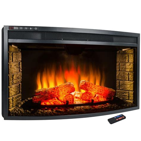 electric fireplace insert akdy 33 in freestanding electric fireplace insert heater