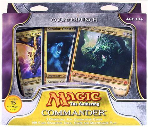 Mtg Commander Decks 2011 by Magic The Gathering Commander Deck 2011 Counterpunch