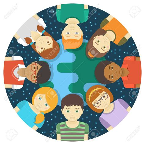 multiracial clipart clipground