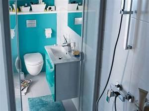 Salle D Eau 2m2 : petite salle de bains dix solutions d 39 am nagement page 9 ~ Dailycaller-alerts.com Idées de Décoration