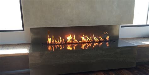 linear gas fireplace linear gas fireplace designed and crafted by the experts