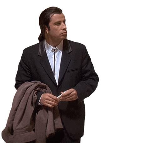 Travolta Meme - john travolata animated gif white background pulp fiction animated media pinterest john
