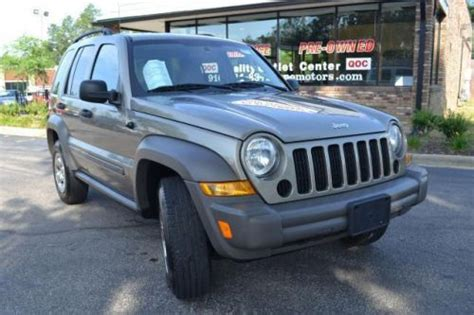 older jeep liberty purchase used 2007 jeep liberty sport in 1480 old us hwy 1