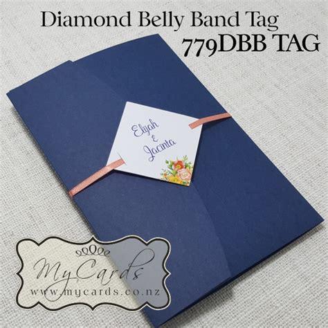 a6 pocketfold blue matt mycards wedding invitations