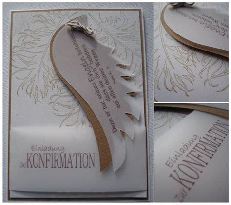 konfirmation einladungskarten basteln einladung
