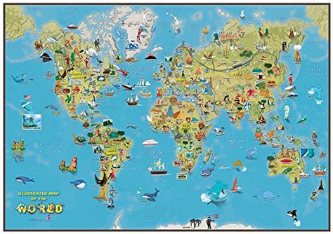 Carte Du Monde Avec Capitales Pdf by Ni 241 Os Mapa De La Historieta Mundo Quejugueteregalo Es
