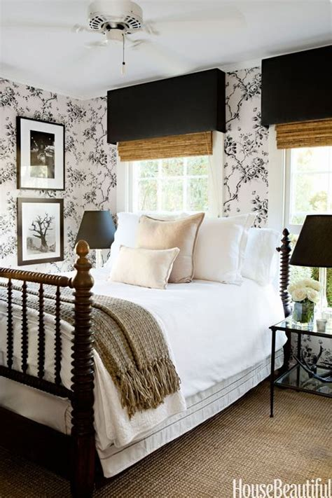 15 beautiful black and white bedroom ideas black and