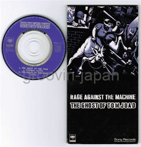 RAGE AGAINST THE MACHINE The Ghost of Tom Joad JAPAN 3