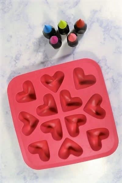 Valentine's Day Idea {heart Shaped Ice Cubes}  All Crafty