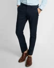 Man in Skinny Dress Pants
