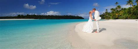 foot island aitutaki cook islands perfect weddings