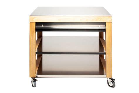 etagere de cuisine en inox cristel billot de cuisine cookmobil tiroir étagère