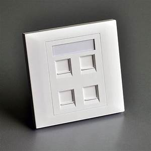 2pcs  Pack  86x86mm 4  Wall Plate For