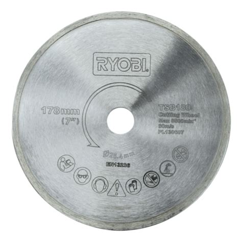 tile saw blade diamond edge 178mm product detail
