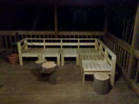 outdoor furniture plans sectional   build diy