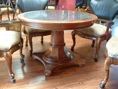 round table granite bay enchanting granite top round dining table including