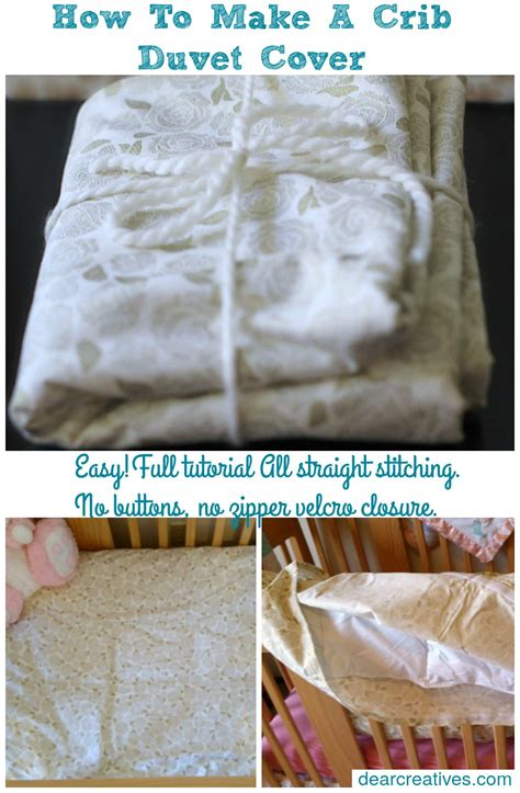 how to make a duvet cover sewing how to make a crib size duvet cover