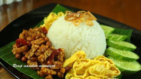 resep nasi uduk rice cookermudah gurih  lezat youtube