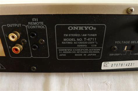 onkyo integra   tuner sold