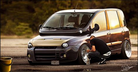 fiat multipla top gear well this is rather an interesting attempt to improve a