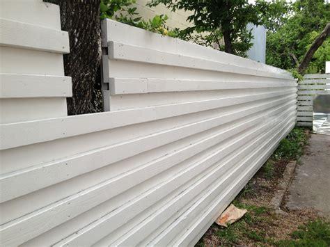 mad  mid century wood mid century modern fence