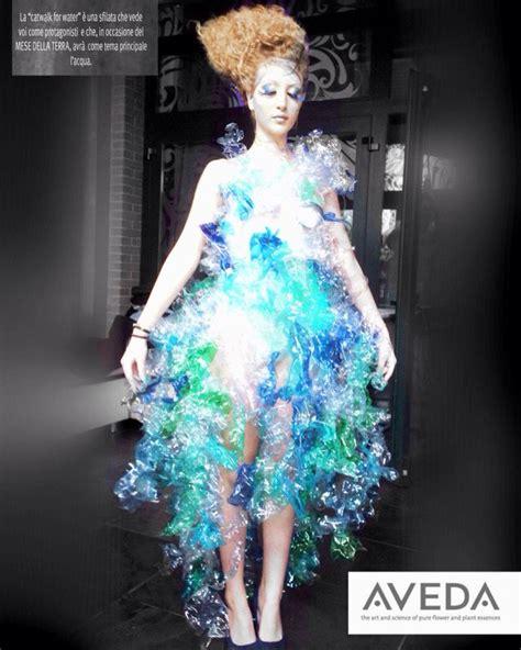 aveda water catwalk  florence italy dress
