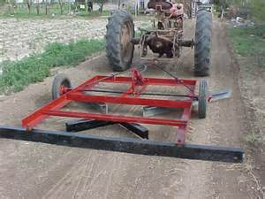 Driveway Leveler for Tractor
