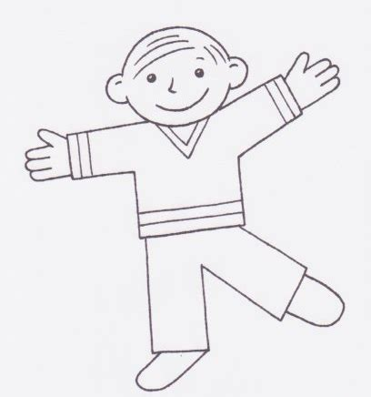 Flat Stanley Template Printable by Flat Stanley Printable Boy Pictures Free