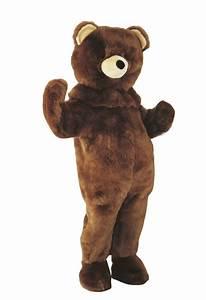 Bronw bear mascot costume, Mascot and costumes, Animal ...