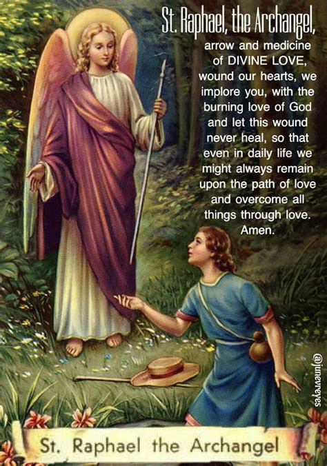 prayer  st raphael  archangel archangel prayers