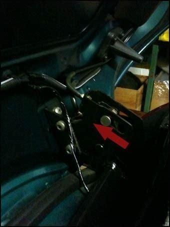 comment changer les v 233 rins de coffre 206 cc