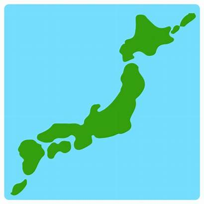 Umriss Japan Emoji