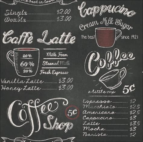 modern cafe menu card williamson gaus