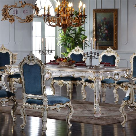italian dining room tables stunning blue upholstered chairs and antique white dining