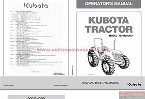 Kubota Tractor M7040 M6040 M8540 M9540  Cab Operators