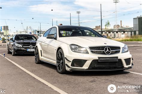 mercedes benz   amg coupe black series  march